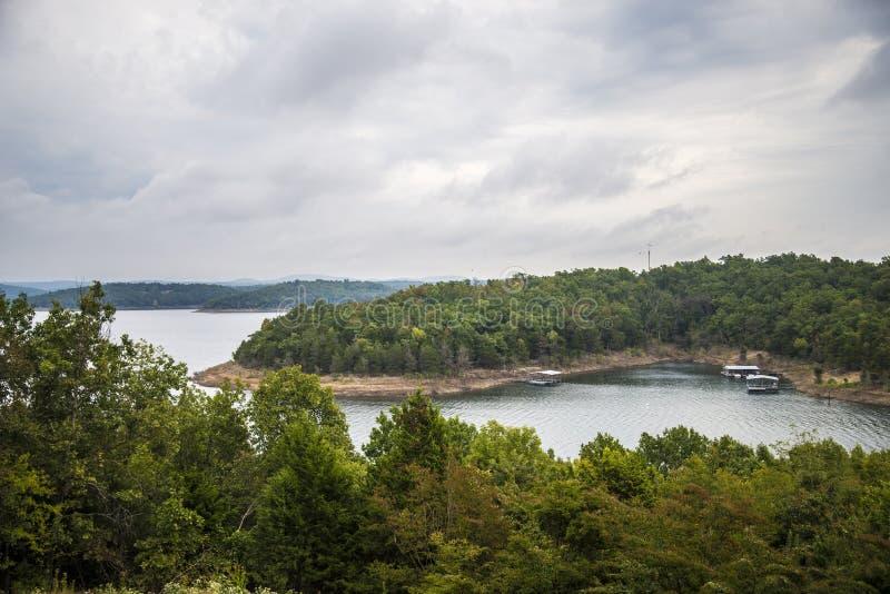 Le lac shoal's de Taureau, rivière, l'eau photos libres de droits