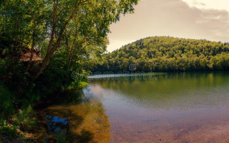 Le lac Supérieur chekhov sakhaline images libres de droits