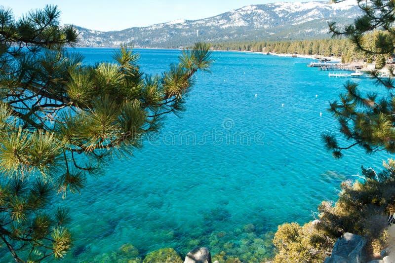 Le lac Tahoe image stock