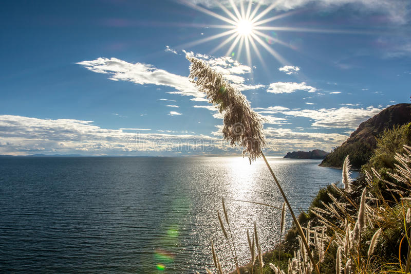Le Lac Titicaca -2- images stock