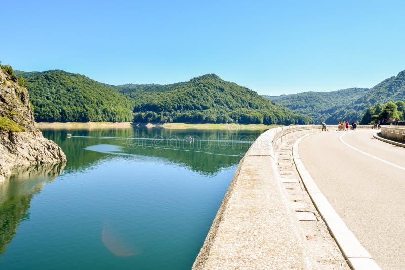 Le lac Vidradu photos stock