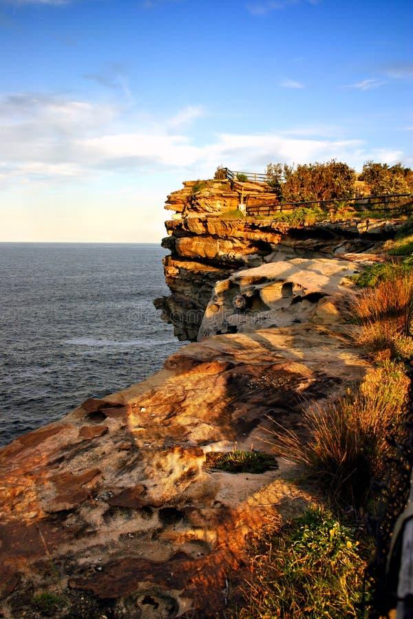 Le lacune, baia del Watson, Sydney fotografia stock libera da diritti