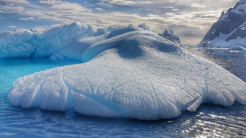 Le landcape étonnant de l'Antarctique photo stock
