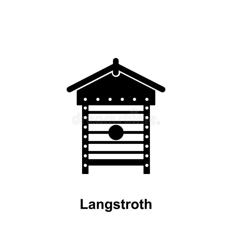 le langstroth amassent l'icône Élément d'icône de l'apiculture Icône de la meilleure qualité de conception graphique de qualité S illustration libre de droits