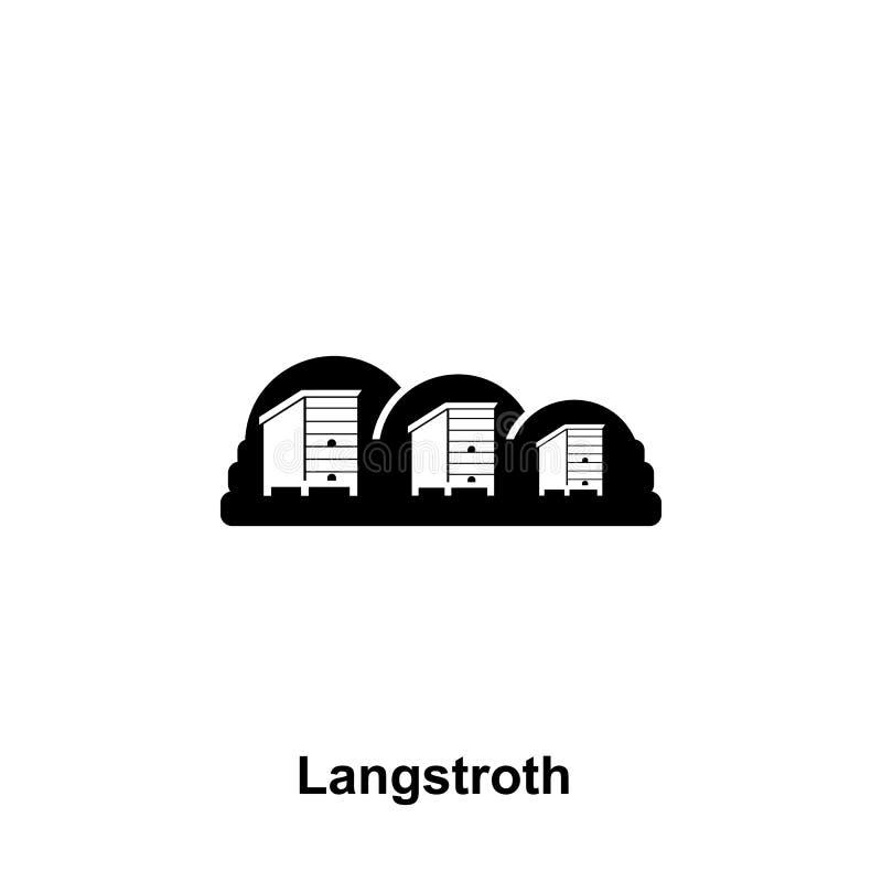 le langstroth amassent l'icône Élément d'icône de l'apiculture Icône de la meilleure qualité de conception graphique de qualité S illustration de vecteur