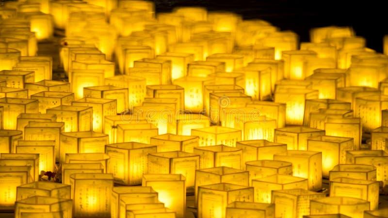 Le lanterne dell'acqua fotografia stock
