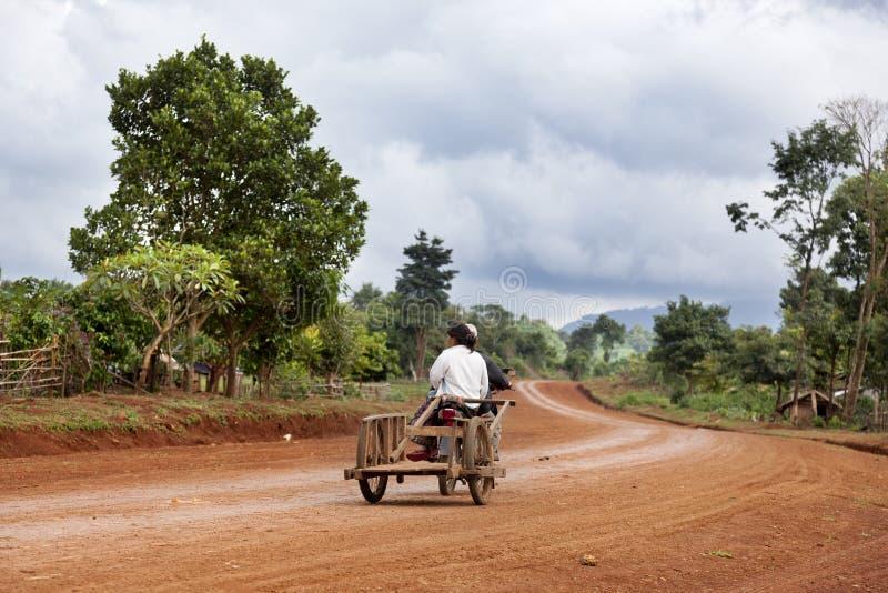 Le Laos rural photographie stock