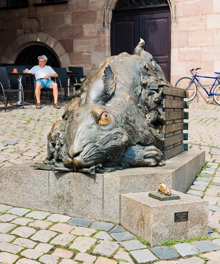 Le lapin Der Hase de Duerer 1984 de Juergen Goertz Nuernbe image libre de droits