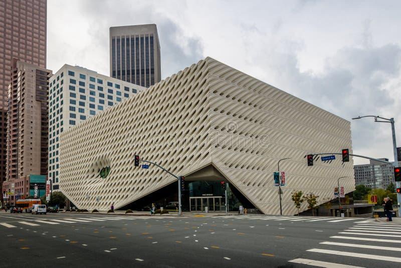 Le large Musée d'Art contemporain - Los Angeles, la Californie, Etats-Unis images libres de droits