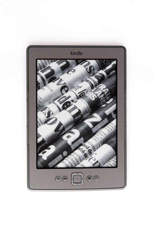 Le lecteur Amazone d'E-Livre allument photos stock