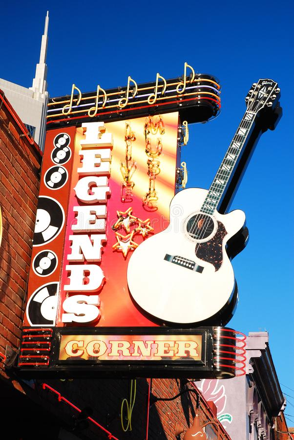 Le leggende accantonano, Nashville fotografia stock libera da diritti