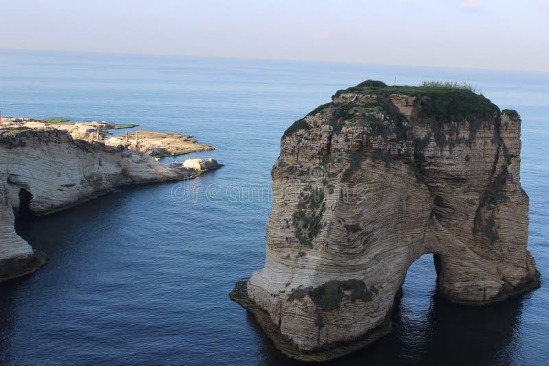 Le Liban Beyrouth images libres de droits