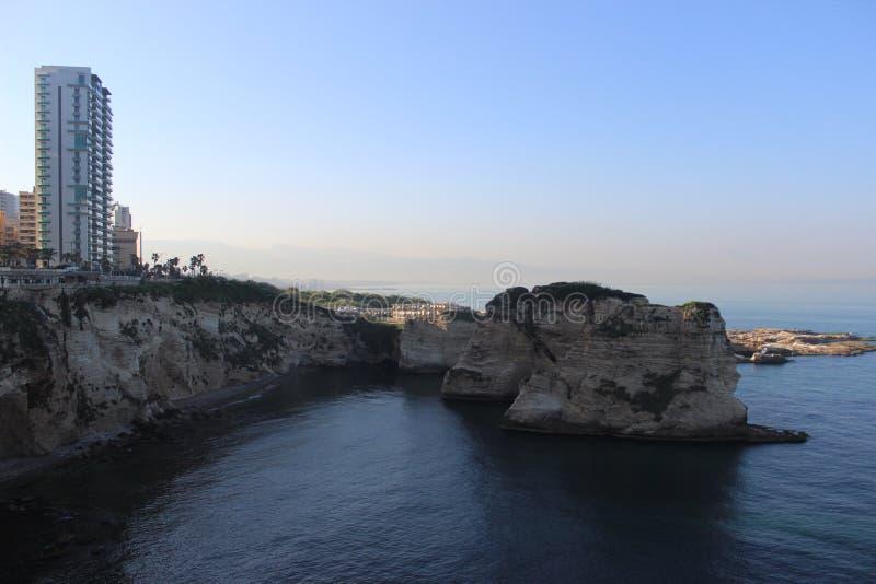 Le Liban Beyrouth photo libre de droits