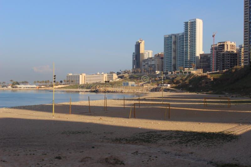 Le Liban Beyrouth image libre de droits