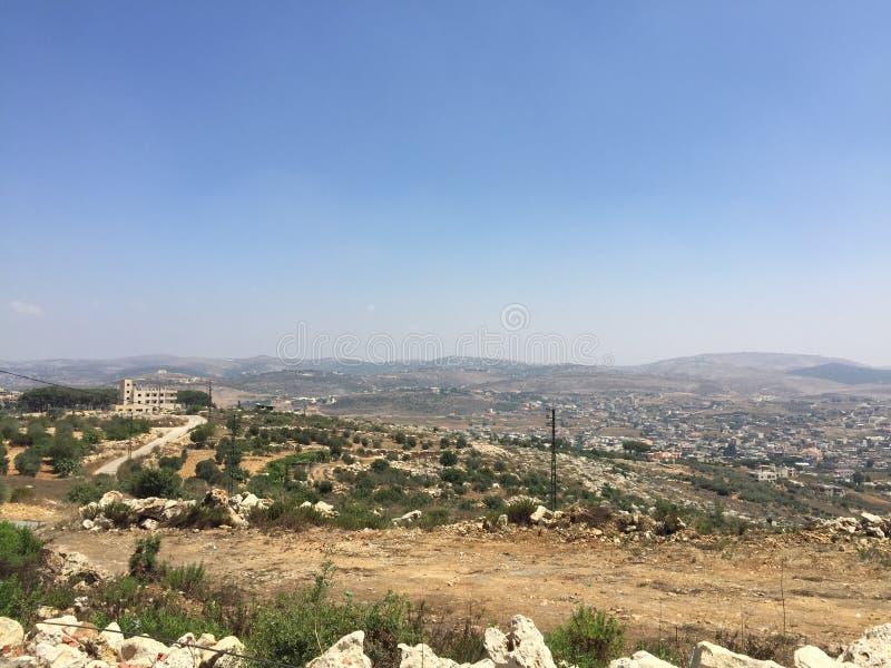 Le Liban du sud photo libre de droits