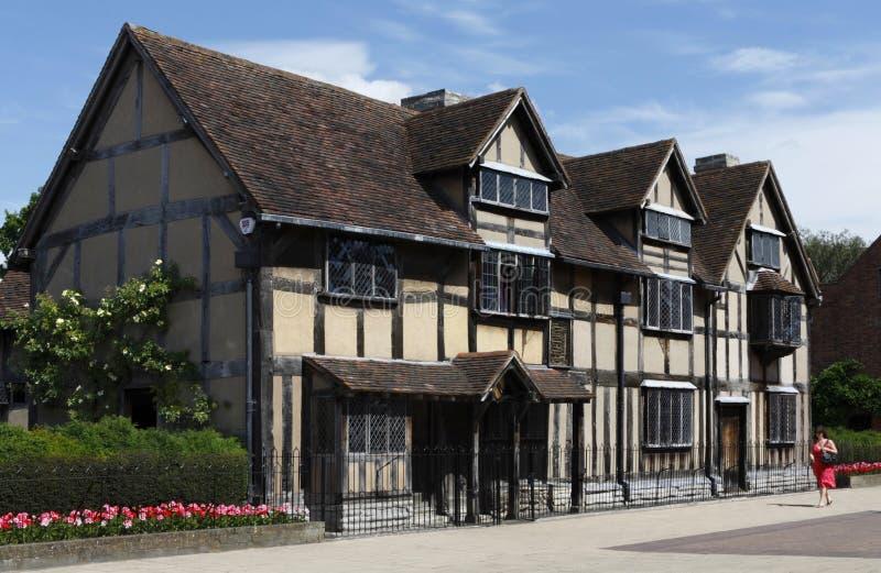 Le lieu de naissance de Shakespeare photos stock