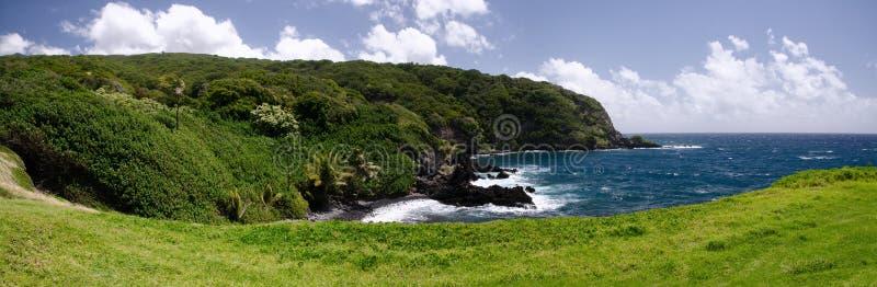 Le littoral de l'île scénique de Maui, Hawaï images stock