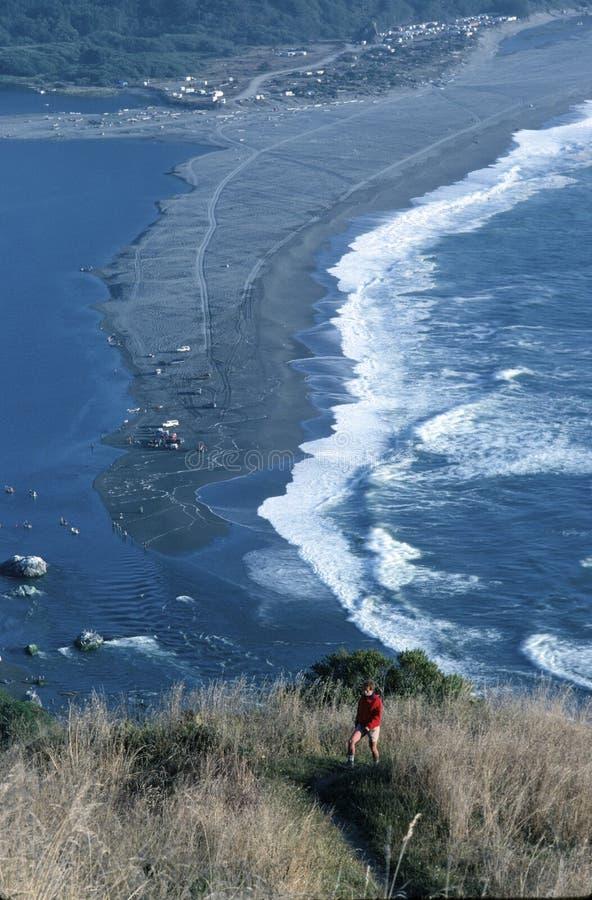 Le littoral scénique de la haute donnent sur photos stock