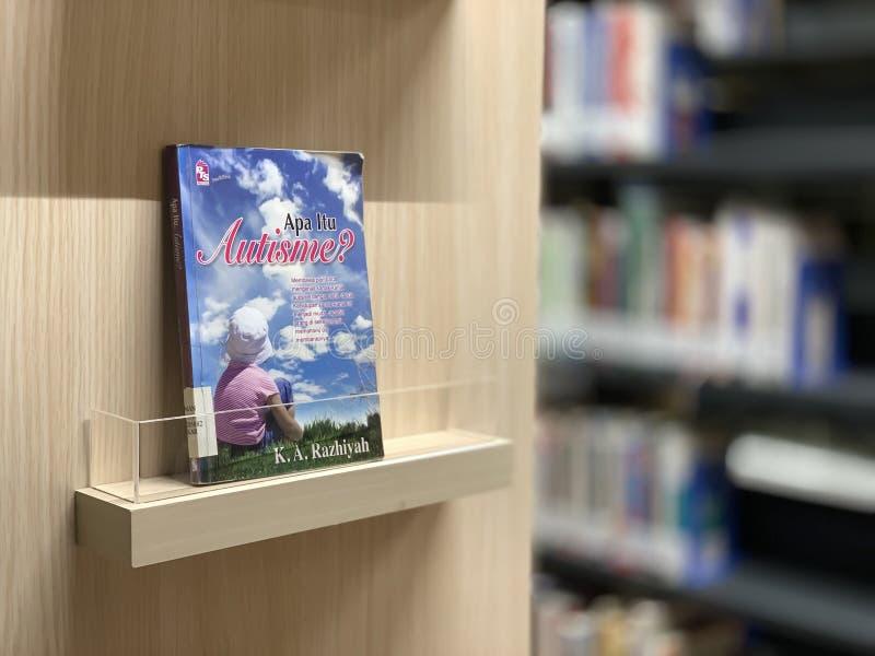 Le livre d'autisme photos stock
