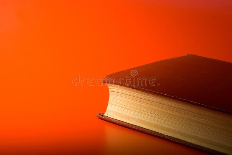Le livre rouge photographie stock
