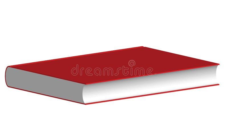Le livre rouge illustration libre de droits