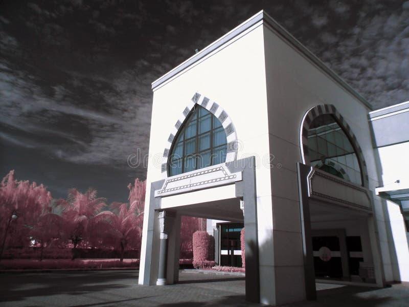 Le lobby de l'hôpital AR-Rahmah image stock