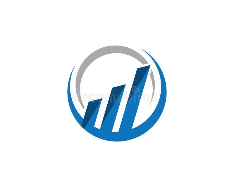 Le logo de propriété et de construction conçoivent pour des sig d'entreprise d'affaires illustration stock