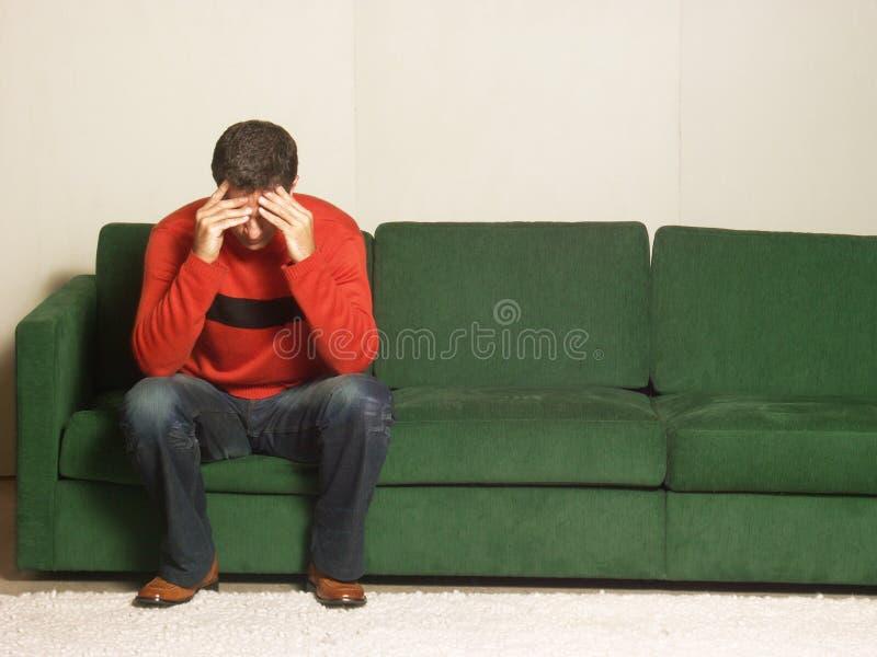 Le long de la dépression. image stock