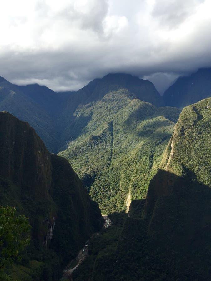 Le long du journal d'Inca photographie stock