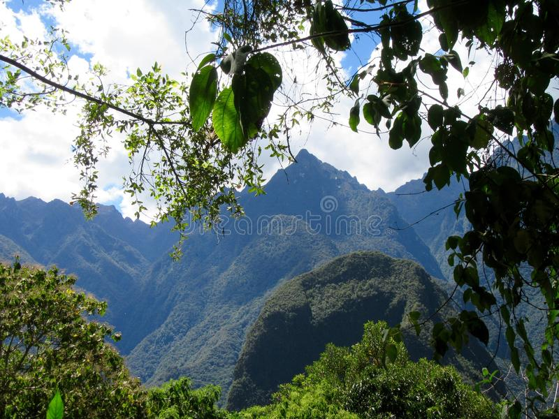 Le long du journal d'Inca image libre de droits
