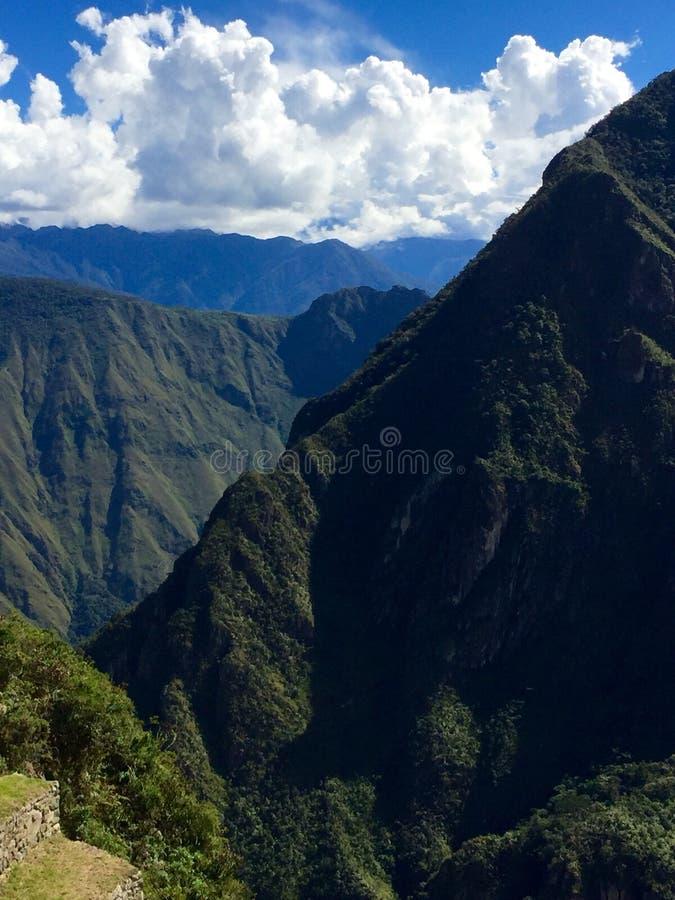Le long du journal d'Inca photo stock