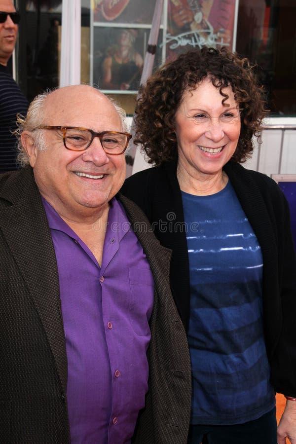 Le Lorax, Rhea Perlman, Danny de Vito photographie stock