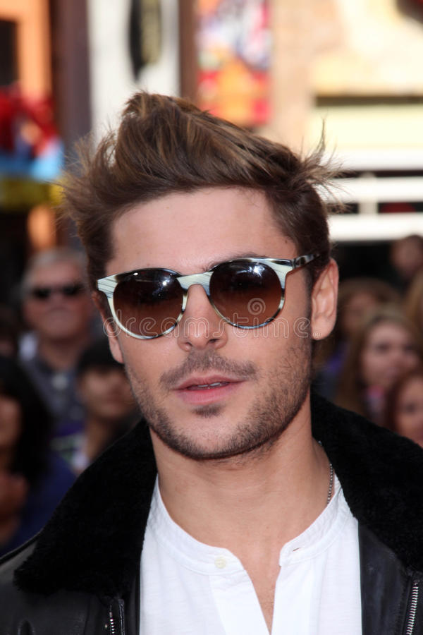 Le Lorax, Zac Efron images stock
