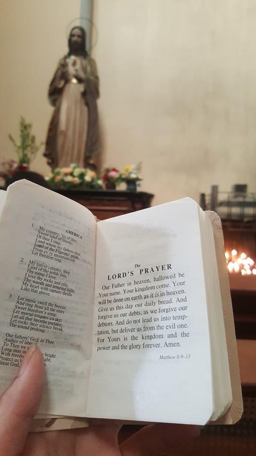 Le Lord& x27 ; prière de s images stock