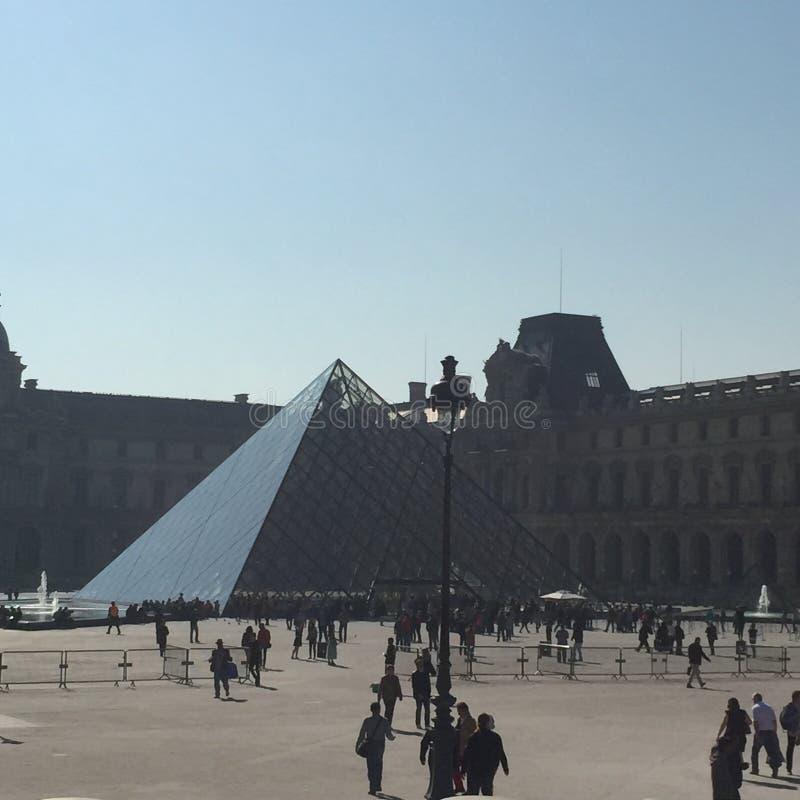 Le Louvre fotografia royalty free