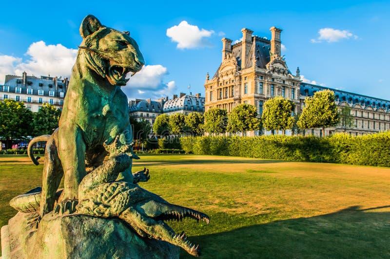 Le Louvre Paris miasto Francja fotografia royalty free