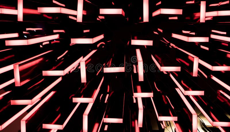 Le luci variopinte fotografie stock libere da diritti