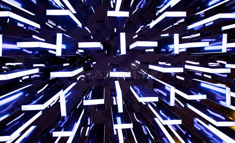 Le luci variopinte immagine stock