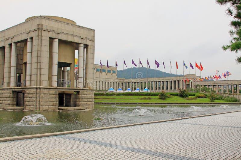 Le mémorial de guerre de la Corée image libre de droits
