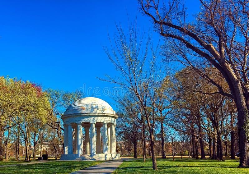 LE MÉMORIAL DE GUERRE, WASHINGTON DC image stock