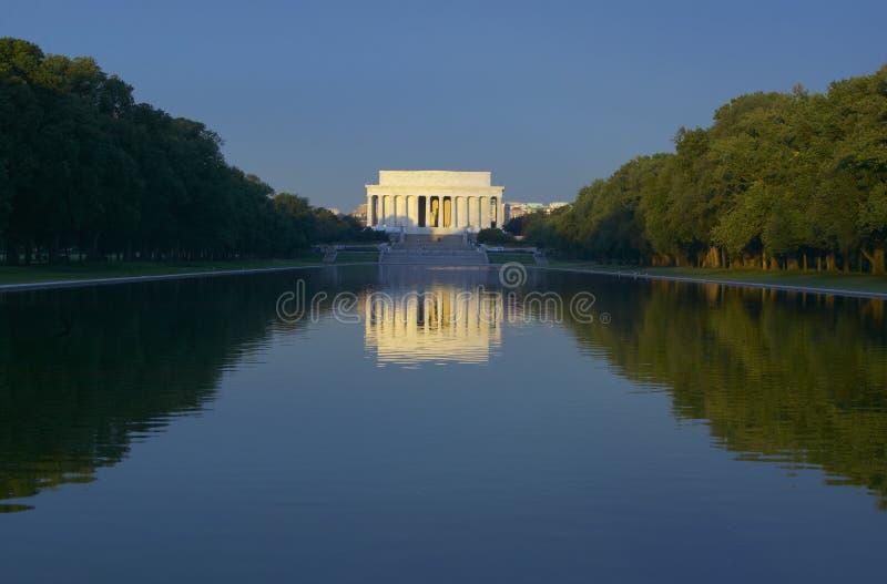 Le mémorial de Lincoln images stock