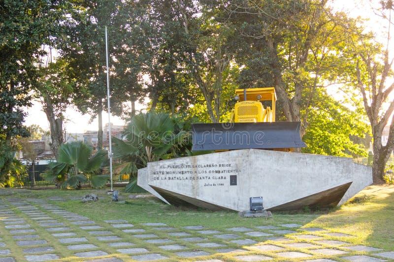 Le mémorial du train emballé avec des soldats de gouvernement a capturé par ch images libres de droits