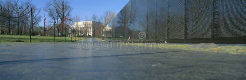 Le mémorial du vétéran du Vietnam image libre de droits
