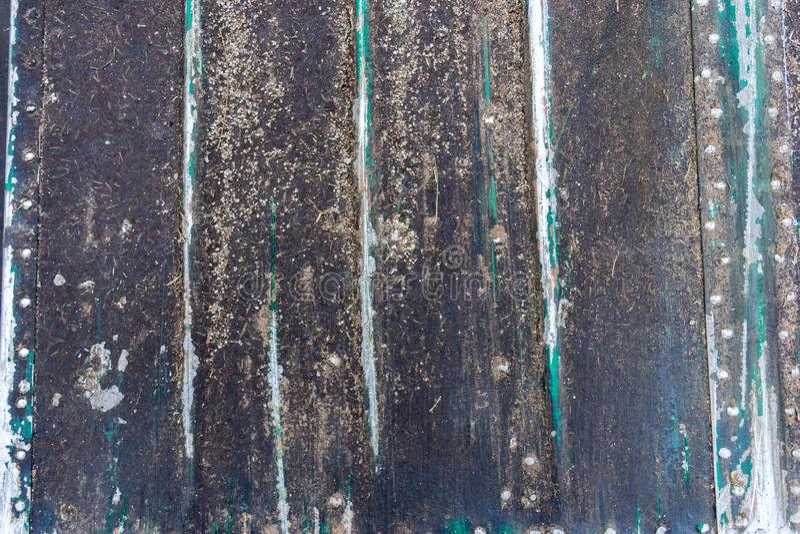 Le métal coloré rouillé de plan rapproché, grunge de résumé a corrodé le fond en acier, le contexte métallique de rétro cru, surf photo stock