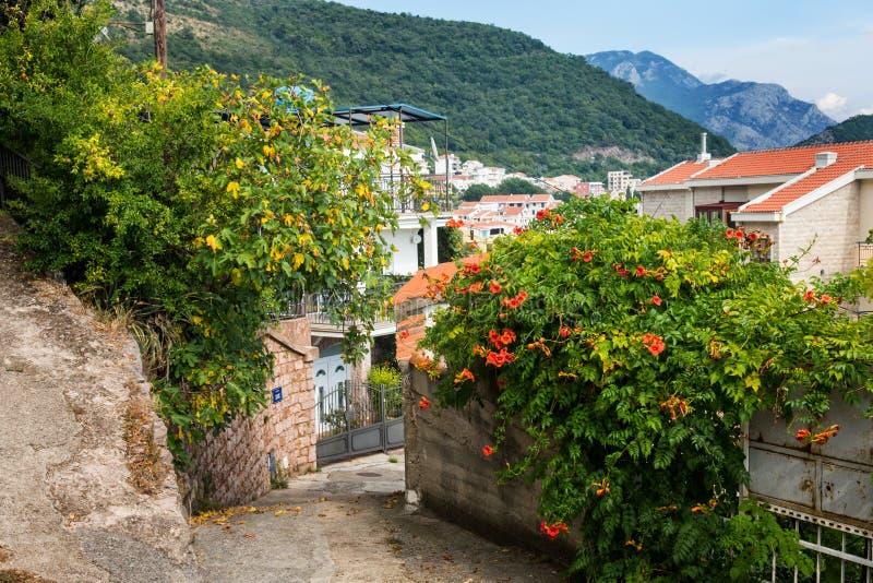 le m?diterran?en Mer Adriatique, Mont?n?gro Petrovac image libre de droits