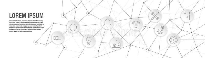le m?langeur commute l'ic?ne De l'ensemble de Web illustration libre de droits