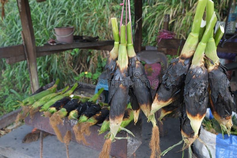 Le maïs cuit au four s'est vendu images libres de droits