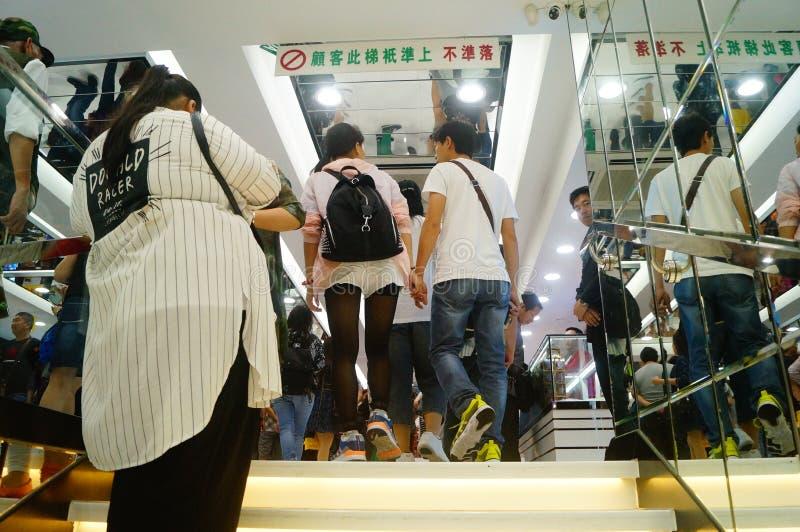 Le Macao, Chine : boutiques hors taxe photographie stock libre de droits