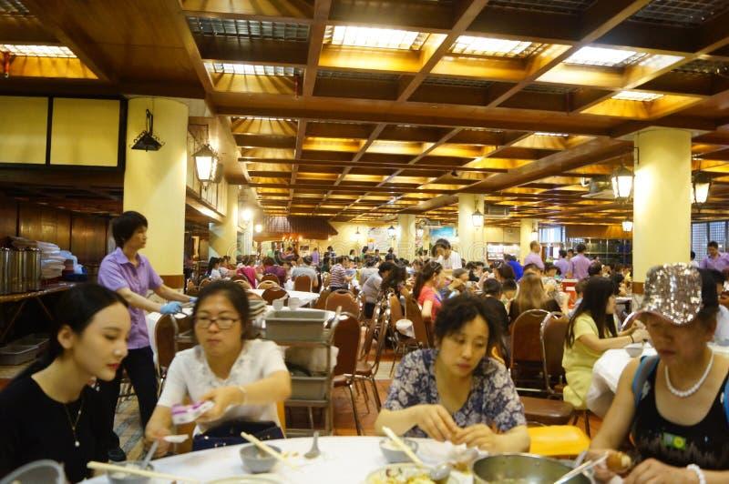 Le Macao, Chine : grand restaurant photo stock