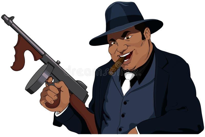 Le Mafiosi illustration de vecteur